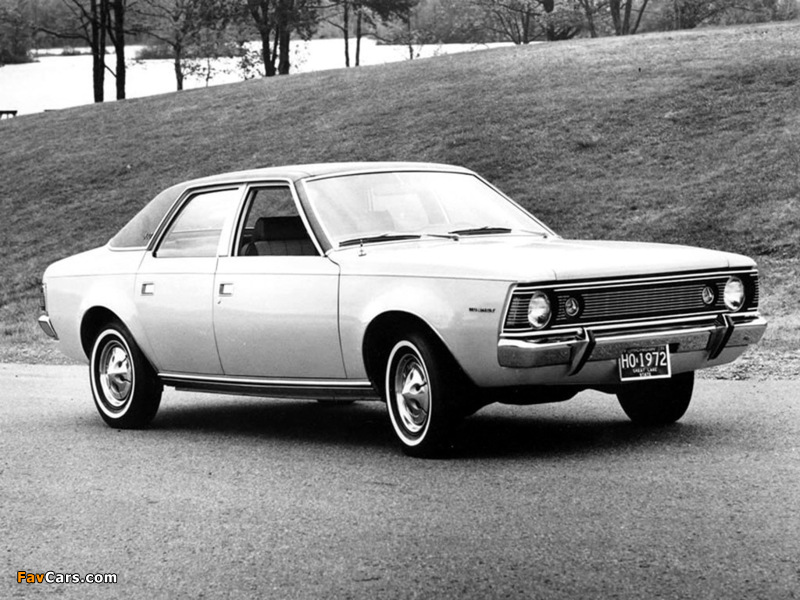 Photos of AMC Hornet SST Sedan 1970–72 (800 x 600)