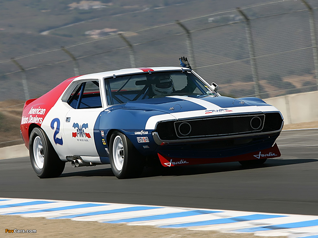 Photos of AMC Javelin Trans Am Race Car 1970–72 (1024x768)