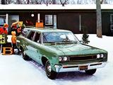 AMC Rebel Station Wagon 1967 wallpapers