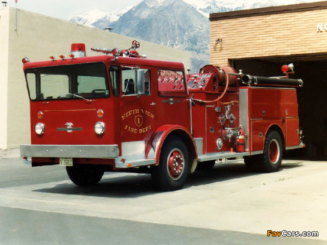 American LaFrance Pioneer I (1964–1972) images (640 x 480)