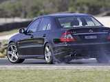 Images of Mercedes-Benz E 63 AMG AU-spec (W211) 2007–09