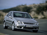 Mercedes-Benz C 55 AMG (W203) 2004–07 images