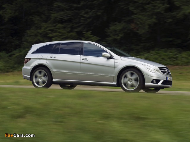 Mercedes-Benz R 63 AMG (W251) 2007–10 pictures (640 x 480)