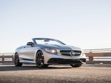 Mercedes-AMG S 63 Cabriolet North America (A217) 2016 wallpapers
