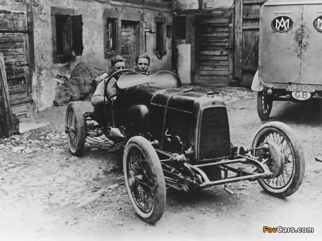 Aston Martin 11 HP Green Pea (1922) photos (640 x 480)