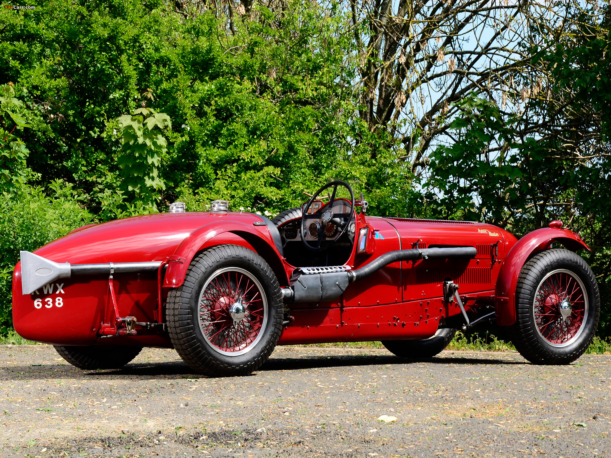 Aston Martin 2 Litre Speed Model 1939 Pictures 2048x1536