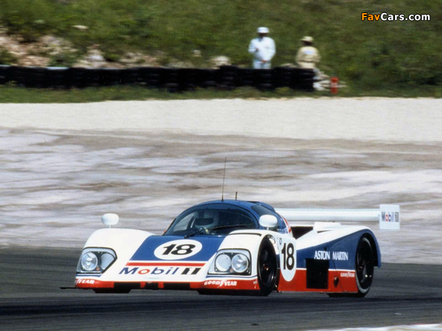 Pictures of Aston Martin AMR1 (1988–1990) (640 x 480)