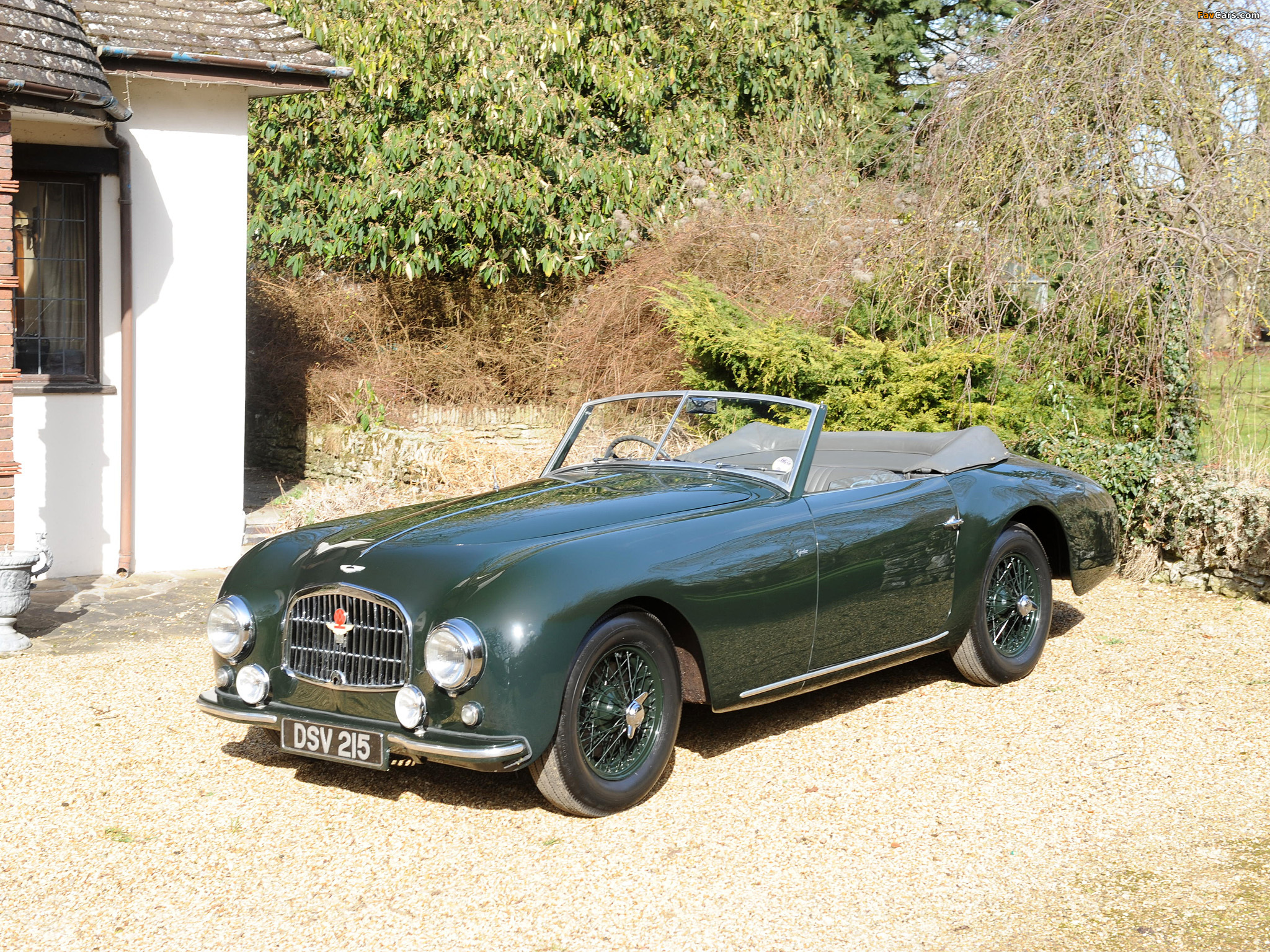 Aston Martin Db2 Vantage By Graber 1952 1953 Pictures