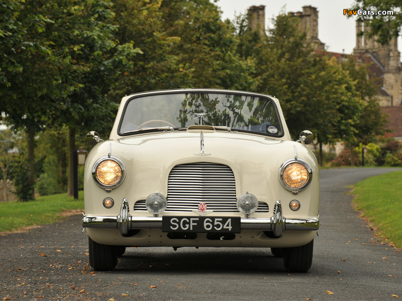 Aston Martin DB2/4 Drophead Coupe MkII (1955–1957) pictures (800 x 600)
