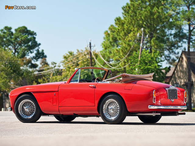Aston Martin DB2/4 Drophead Coupe MkIII (1957–1959) pictures (640 x 480)