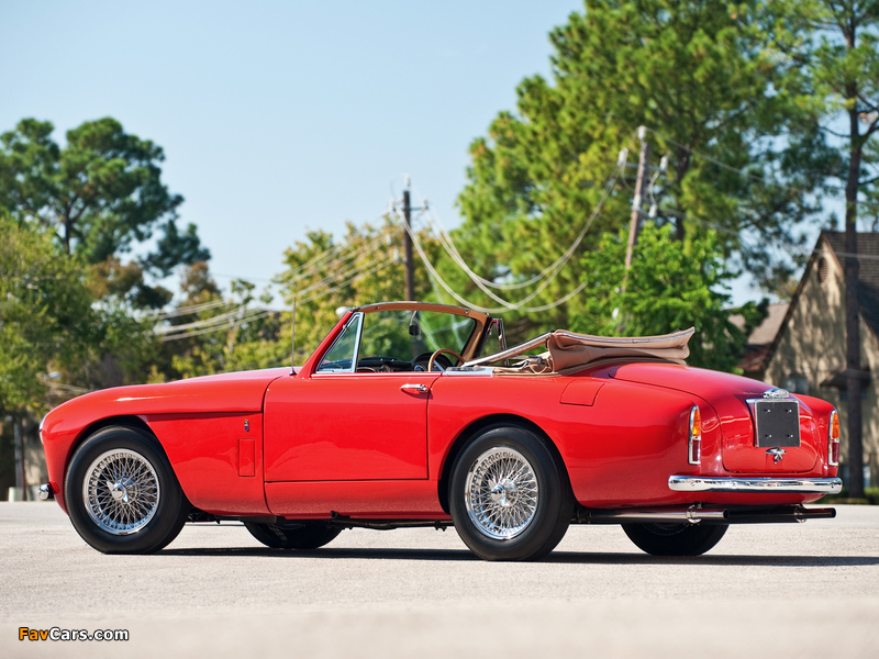 Aston Martin DB2/4 Drophead Coupe MkIII (1957–1959) pictures (800 x 600)