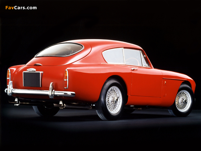 Aston Martin DB2/4 Saloon by Tickford MkIII (1958–1959) images (640 x 480)