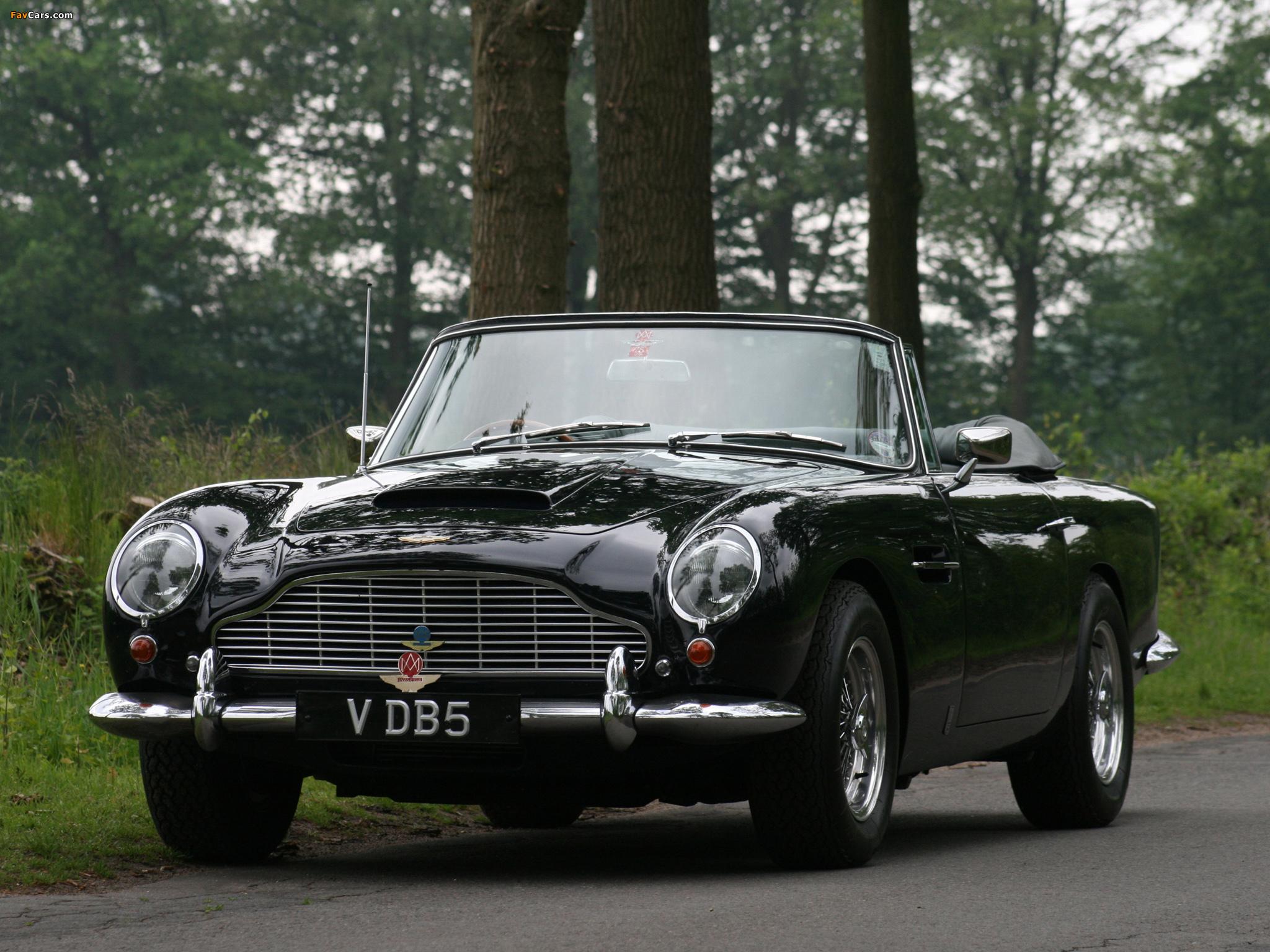 Aston Martin Db5 Vantage Convertible 1963 1965 Photos