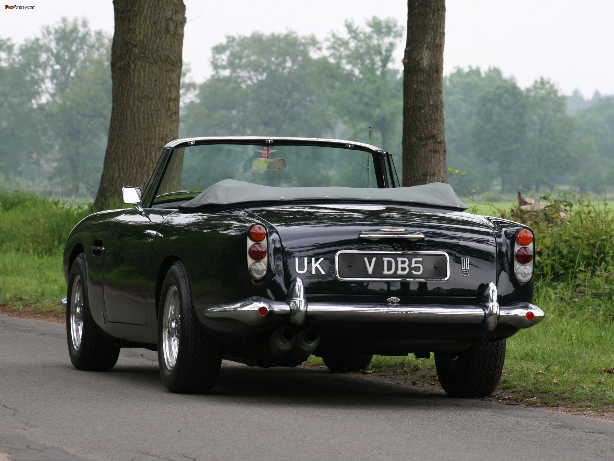 Aston Martin Db5 Vantage Convertible 19631965 Wallpapers