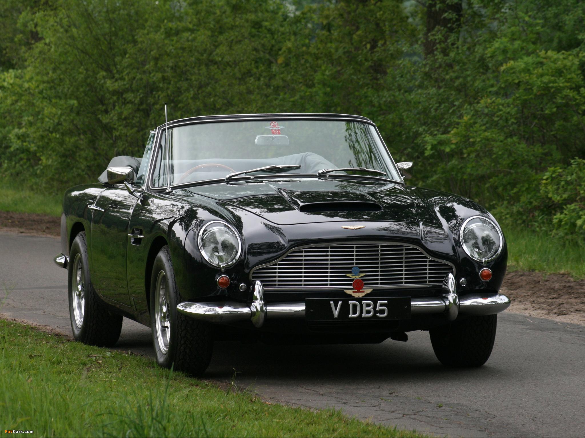Aston Martin Db5 Vantage Convertible 1963 1965 Wallpapers 2048x1536