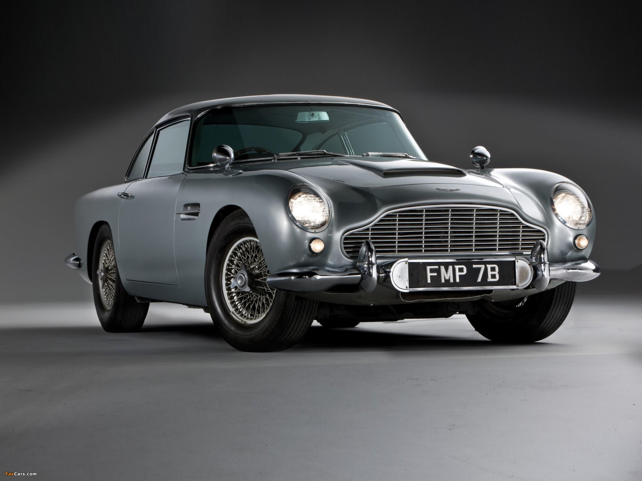 Aston Martin Db5 James Bond Edition 1964 Wallpapers