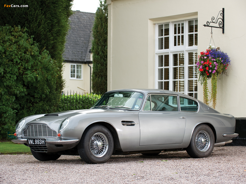Aston Martin DB6 Vantage UK-spec (1965–1970) images (1024 x 768)