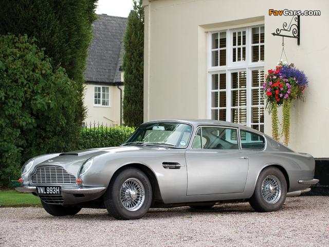 Aston Martin DB6 Vantage UK-spec (1965–1970) images (640 x 480)