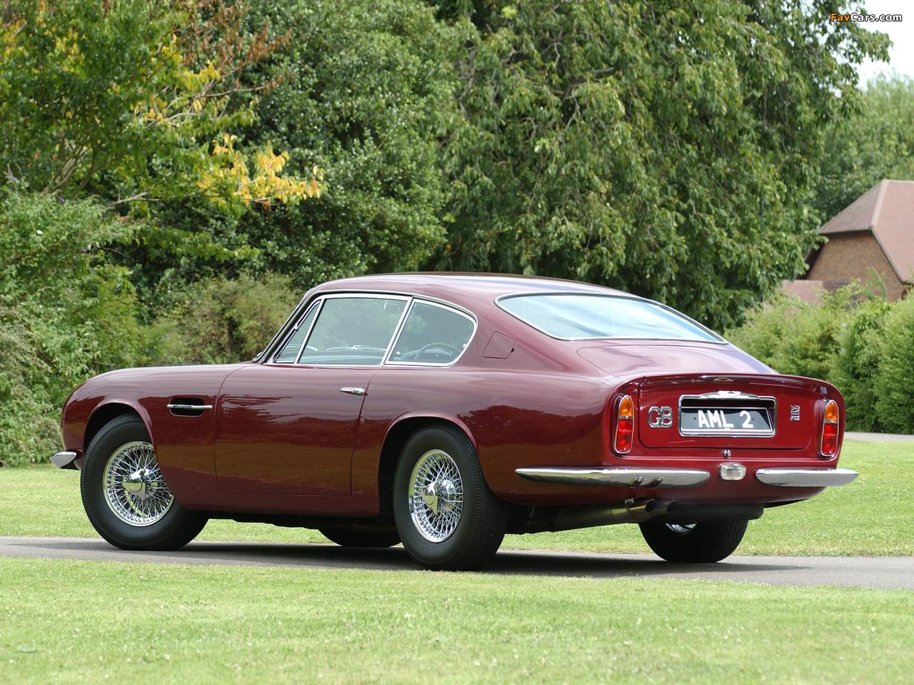 Aston Martin DB6 Vantage UK-spec (1965–1970) pictures (1280 x 960)