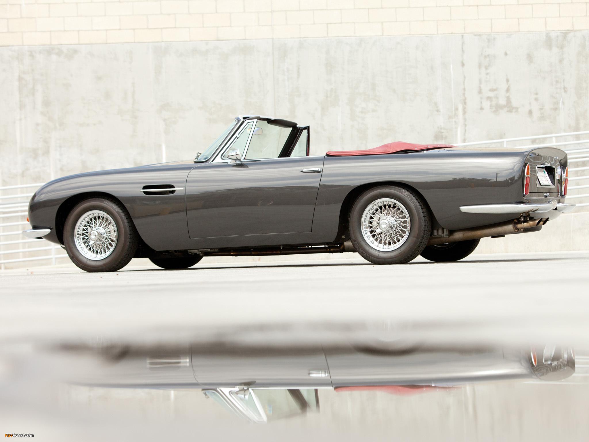 Photos of Aston Martin DB6 Volante (1965–1969) (2048 x 1536)