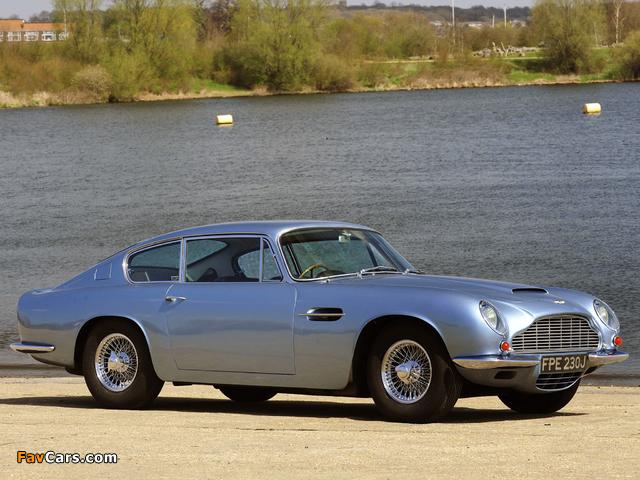 Photos of Aston Martin DB6 UK-spec (MkII) 1969–71 (640 x 480)