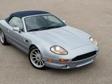 Aston Martin DB7 Volante North America 1996–99 pictures