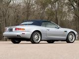 Aston Martin DB7 Volante North America 1996–99 wallpapers