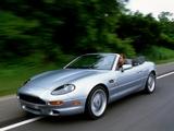 Aston Martin DB7 Volante (1996–1999) photos