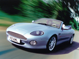Aston Martin DB7 Vantage Volante UK-spec (1999–2003) photos