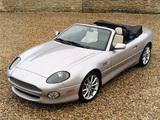 Aston Martin DB7 Vantage Volante US-spec (1999–2003) photos