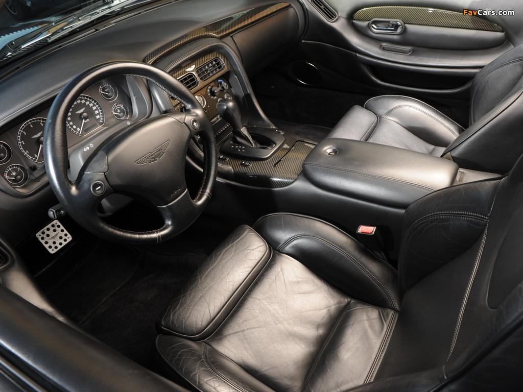 Aston Martin DB7 Vantage Volante (1999–2003) pictures (1024 x 768)