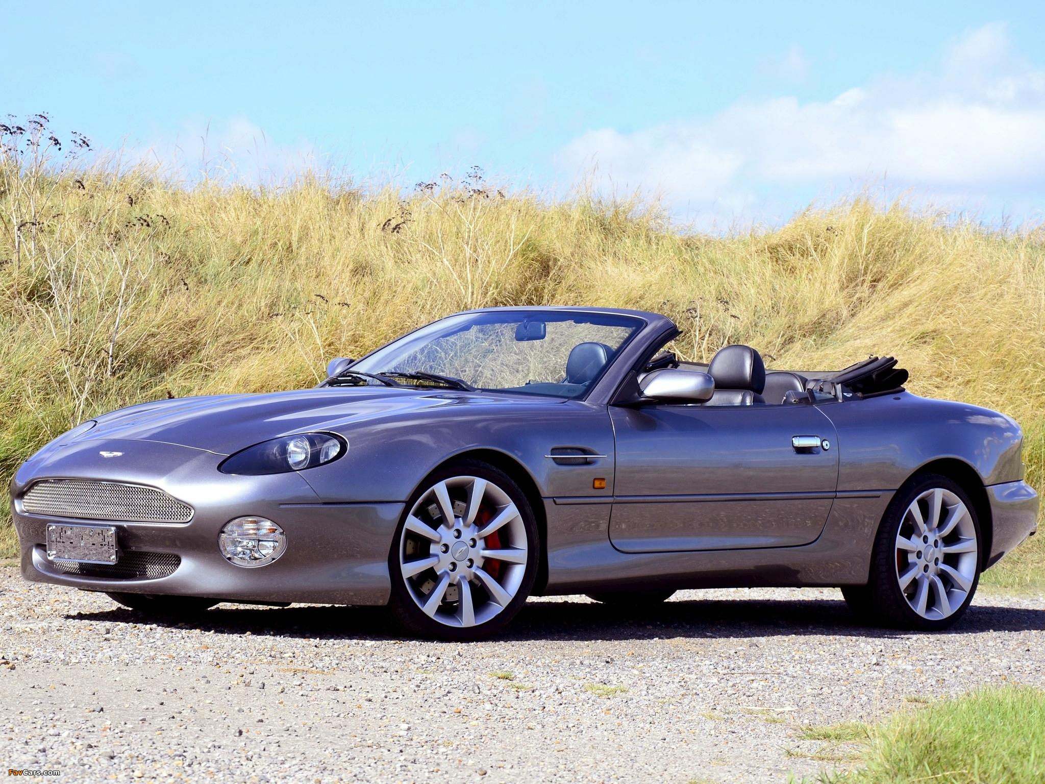 Aston Martin DB7 Vantage Volante (1999–2003) images (2048 x 1536)