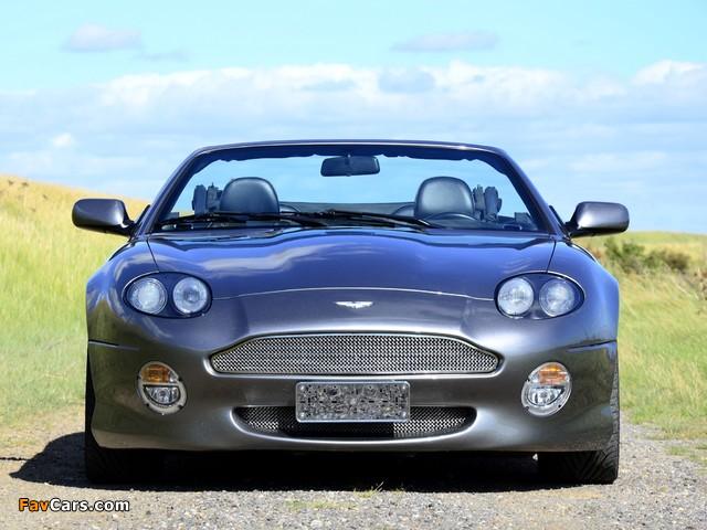 Aston Martin DB7 Vantage Volante (1999–2003) photos (640 x 480)