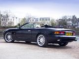 Images of Aston Martin DB7 Volante UK-spec 1996–99