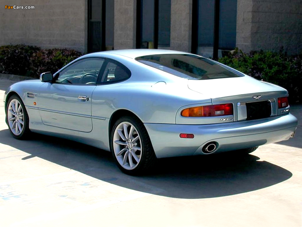 Images of Aston Martin DB7 Vantage US-spec (1999–2003) (1024 x 768)