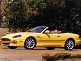 Images of Aston Martin DB7 Vantage Volante US-spec (1999–2003)