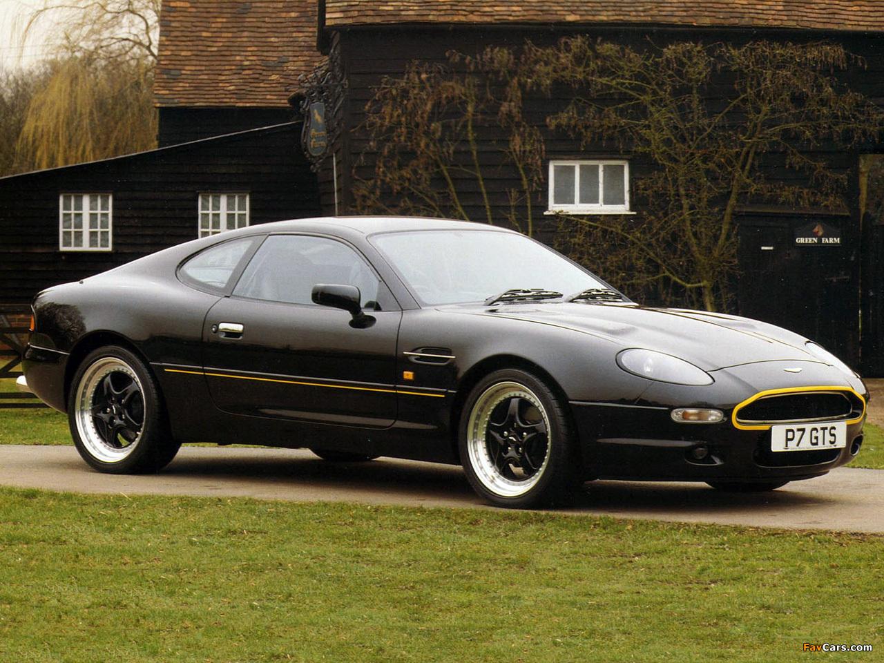 Photos of Aston Martin DB7 GTS (1996) (1280 x 960)