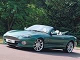 Pictures of Aston Martin DB7 Vantage Volante UK-spec (1999–2003)