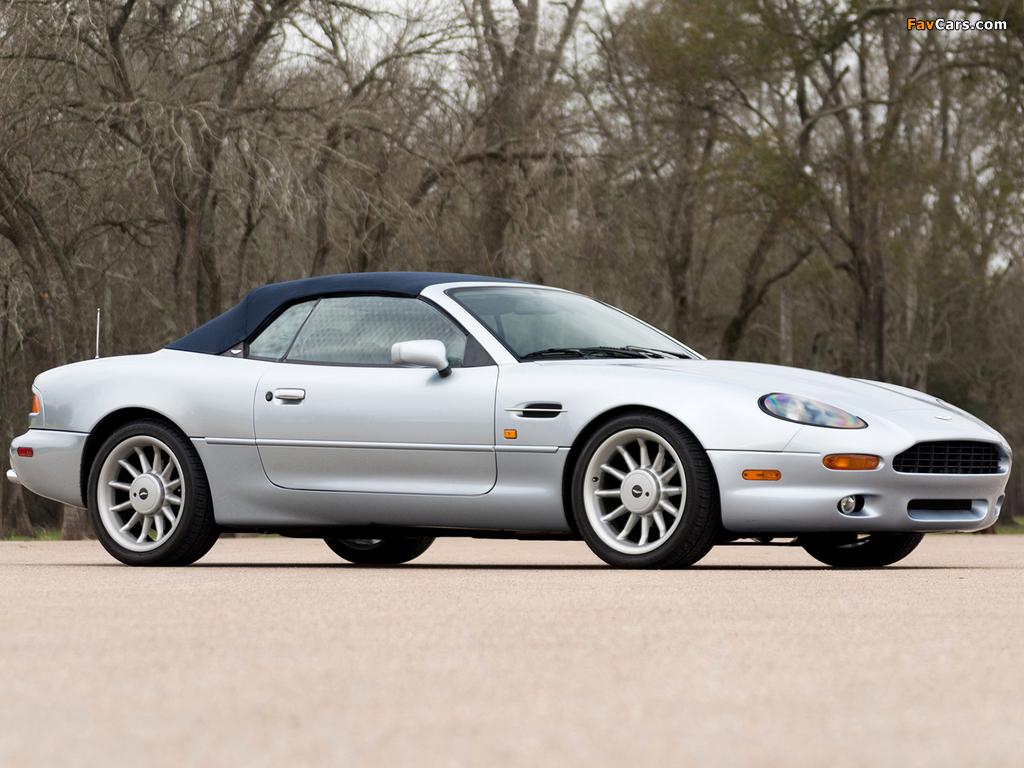 Aston Martin DB7 Volante North America 1996–99 wallpapers (1024 x 768)
