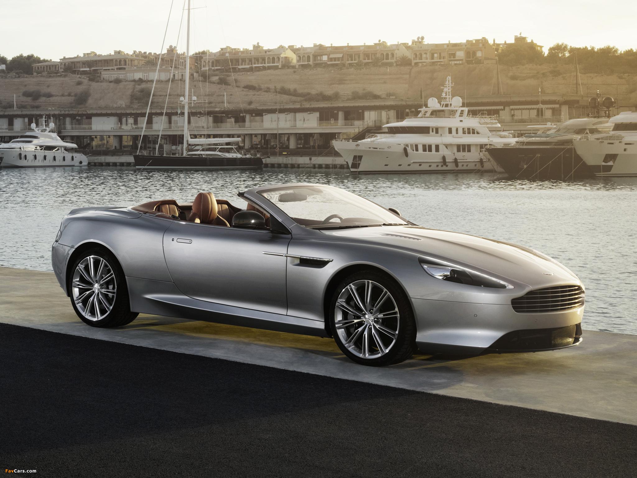 Aston Martin DB Volante Images - Aston martin db9 volante