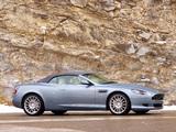 Aston Martin DB9 Volante (2004–2008) photos