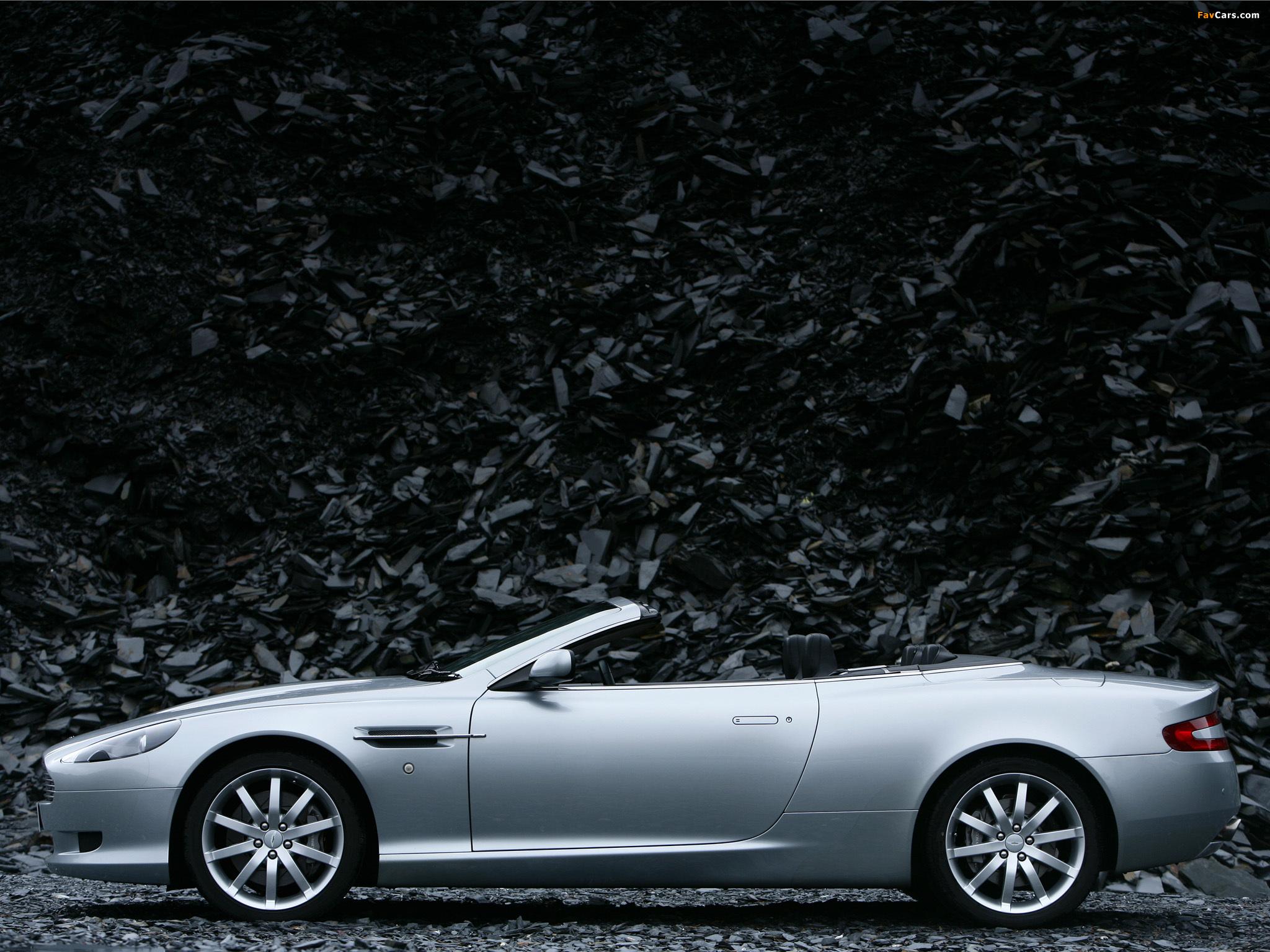 Aston Martin DB9 Volante (2004–2008) Pictures (2048x1536