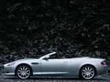 Aston Martin DB9 Volante (2004–2008) pictures