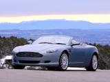 Pictures of Aston Martin DB9 Volante (2004–2008)