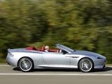 Pictures of Aston Martin DB9 Volante UK-spec (2012)