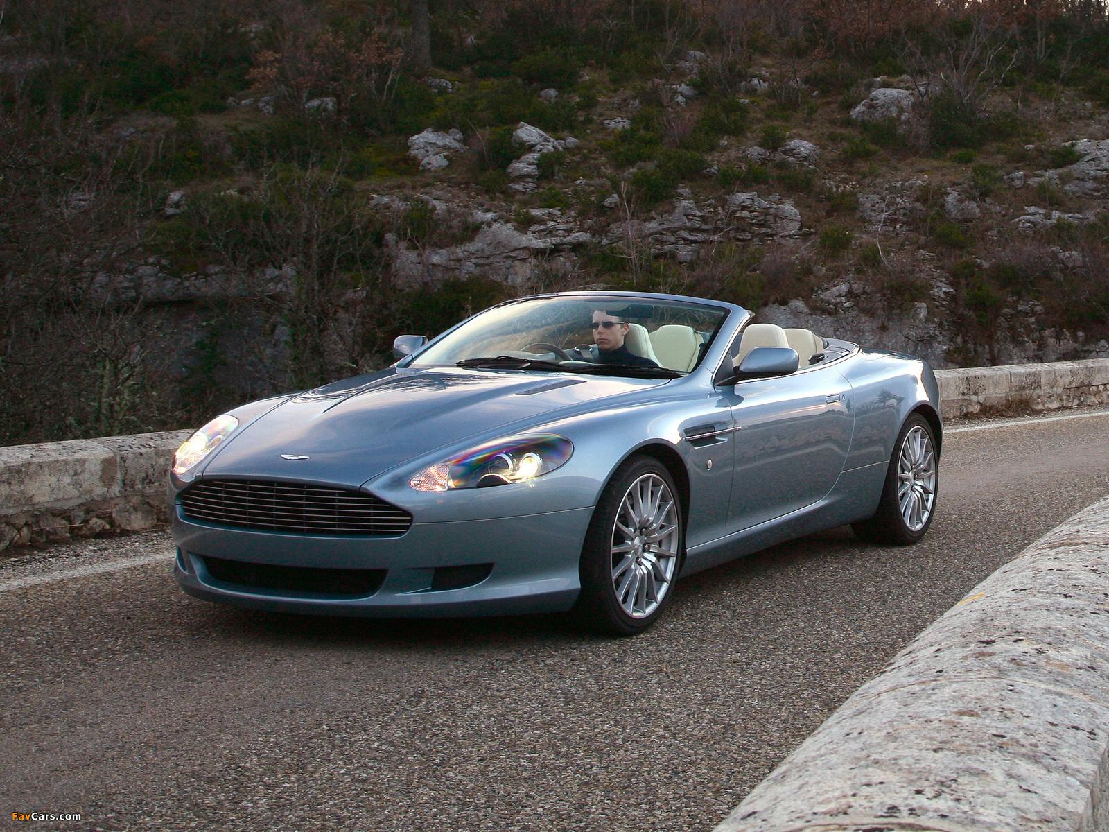 Aston Martin Db9 Volante 2004 2008 Wallpapers 1600x1200