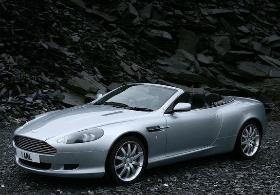Aston Martin DB Volante Wallpapers - 2004 aston martin db9