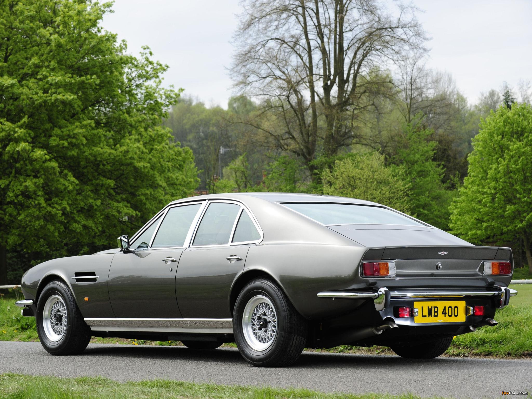 Aston Martin Lagonda V8 Saloon 1974 1976 Wallpapers 2048x1536