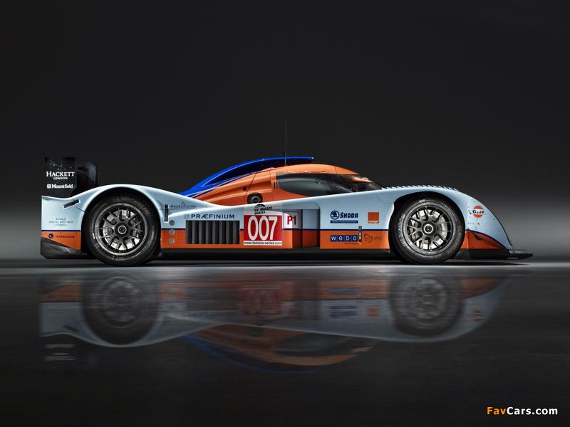 Aston Martin LMP1 (2009–2011) wallpapers (800 x 600)
