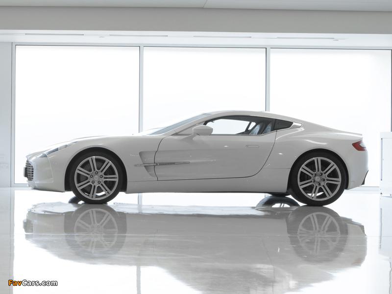 Aston Martin One-77 (2009–2012) wallpapers (800 x 600)